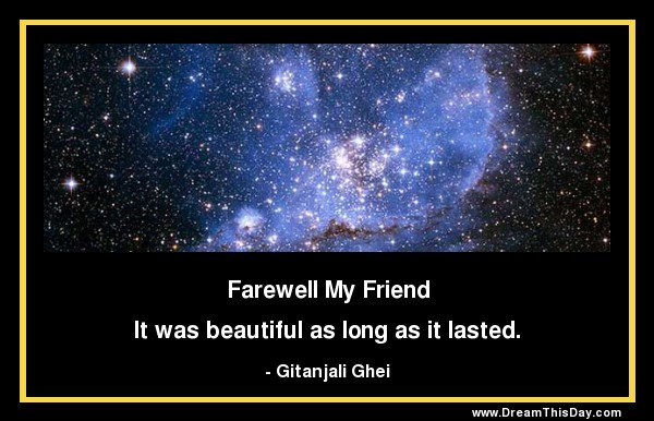 Quotes About The Death Of A Friend Mesmerizing Long Quote About Friendship
